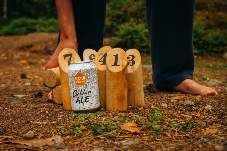 Maku Brewing: Golden Ale Campaign production