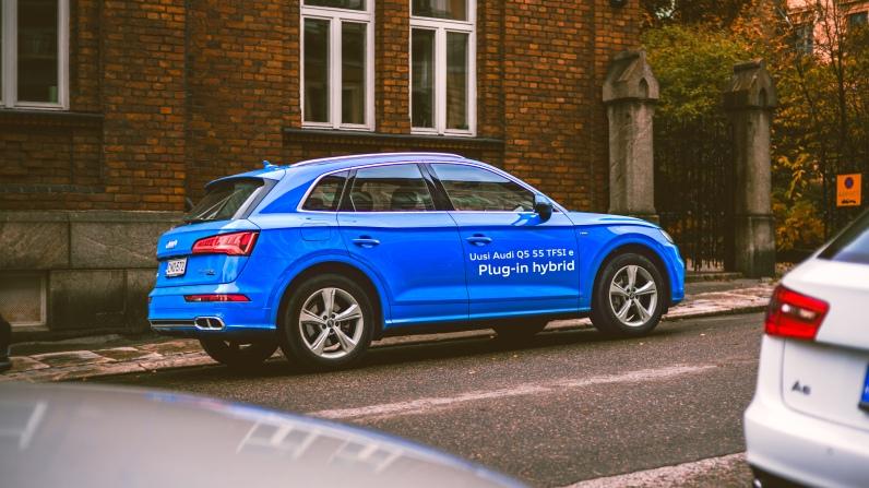 Audi for K-Charge: New Q5 Hybrid
