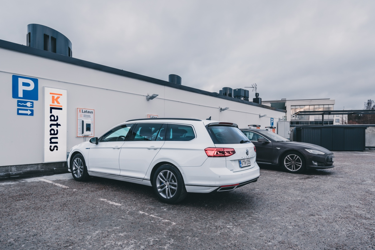 New Passat GTE for K-Charge