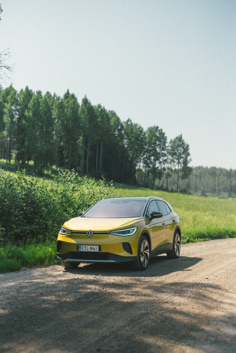 Volkswagen for Kesko: ID.4 K-Charge summer campaign